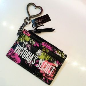 VS ~ BOMBSHELL 🌺 FLORAL CARD CASE